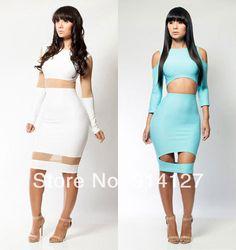 2015-women-celebrity-sexy-clubwear-bandage-bodycon-dress-cut-out-party-novelty-white-Hot-Sheer-Mesh.jpg 472×500 pixels