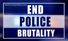 End Police Brutality - WAKE UP AMERICA / Speak Up / Video