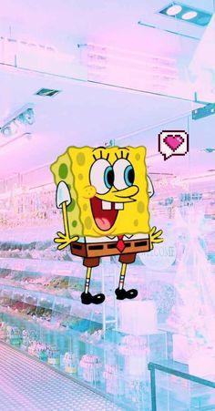 Spongebob Aesthetic Cartoon Wallpaper Iphone Cartoon with Dope Spongebob Wallpapers Iphone Cartoon, Cartoon Wallpaper Iphone, Cute Cartoon Wallpapers, Cute Wallpaper Backgrounds, Trendy Wallpaper, Tumblr Wallpaper, Aesthetic Iphone Wallpaper, Disney Wallpaper, Nature Wallpaper