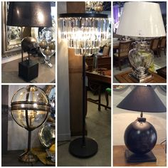 Light up your home with our exclusive imported lamps direct from France!