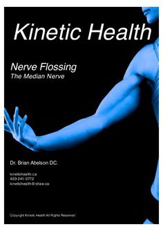 Flossing the Median Nerve: If you have median nerve entrapment (Carpal Tunnel or other nerve entrapment syndromes), then use the exercises in this video to floss, mobilize, and release this nerve from its surrounding tissues. Median Nerve, Carpal Tunnel, Injury Prevention, Exercises, Health Fitness, Exercise Workouts, Excercise, Fitness, Work Outs