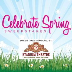 Celebrate Spring Sweepstakes: Enter to win for a chance at $300 or $50 that you can use however you'd like to celebrate the arrival of spring! Contest ends 5/15/17 at 11:59 pm.