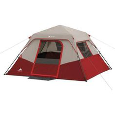 6 Person Camping Tent Hiking Outdoor Beach Supplies Gear Sun Shade Cabin New! #ozarktrail #campingtent