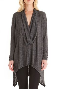 Free shipping and returns on Michael Stars Drape Neck Tunic at Nordstrom.com. An oversized cowl neck and extra-long shark-bite hem lend this lightweight tunic a beautifully draped silhouette that's perfect for layering.