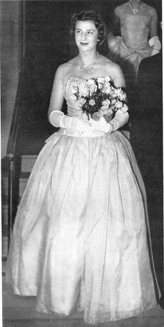 bukovscan016: H.R.H.Princess Alexandra of Kent, 1954