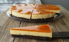 "Konyhamesék: Paleo ""túrós"" baracktorta Cheesecake, Baking, Desserts, Food, Kitchen, Tailgate Desserts, Deserts, Cooking, Cheesecakes"