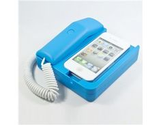 In Top Hashy Plastic Mini Charger Stand for iPhone 4G/3G/3GS (Blue)