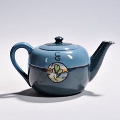 Saturday Evening Girls Decorated Teapot | Sale Number 2870B, Lot Number 299 | Skinner Auctioneers