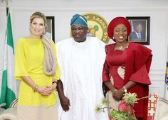 Dutch Queen Maxima's visit to Nigeria