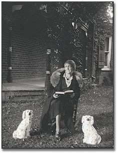 "L. M. Montgomery reads.  One of my favorite authors, and such an interesting lady.  Author of ""Anne of Green Gables""."