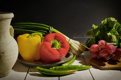 Radishes and sweet peppers by Chef Tiziano Muccitelli on 500px