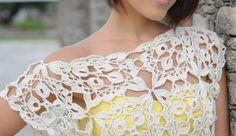 Grafico Top Patron Crochet - Patrones Crochet