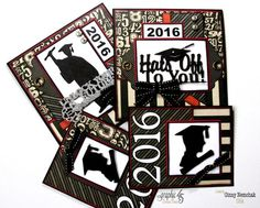 Graduation Cards and tutorial by Ginny #graphic45