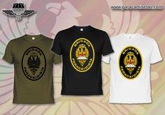 BRIPAC. Brigada Paracaidista. Camisetas Militares. www.paracamisetas.com