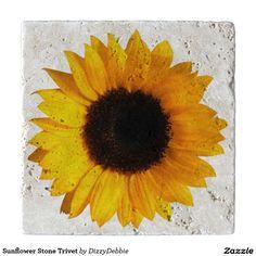 Sunflower Stone Trivet Trivets