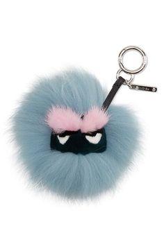 Fendi 'Mini Eyelash' Genuine Fox, Mink & Rabbit Fur Bag Charm available at #Nordstrom