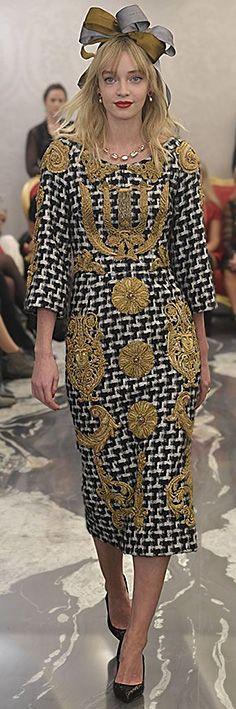 Dolce & Gabbana - Alta Sartoria Cruise 2018 Menswear Collection