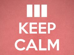 Keep Calm and Ship Apps