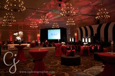 Wedding lighting pictures at the Waldorf Astoria in Orlando, Florida. Lighting by keventlighting.com. Photo by  cjphotographer.com #waldorfastoriaorlando #waldorforlando #waldorfwedding #orlandowedding #ballroomreception #weddingreception #weddinglighting