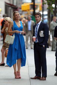 Blake Lively in Gossip Girl Nate Gossip Girl, Gossip Girl Season 6, Blake Lively Gossip Girl, Estilo Gossip Girl, Gossip Girls, Gossip Girl Cast, Gossip Girl Outfits, Gossip Girl Fashion, Chace Crawford