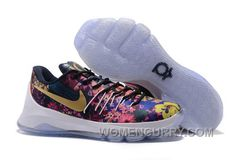 """Nike KD 8 EXT """"Floral"""" Multicolor Mens Basketball Shoes Discount CYPKb ffef8204e2b"""