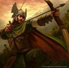 Hirluin, Lord of the Green Hills of Pinnath Gelin by Anthony Foti.