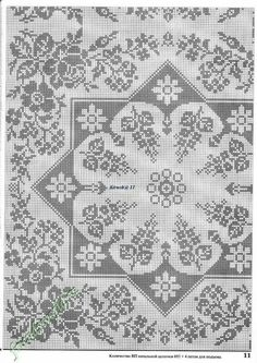 Cross Stitch Pillow, Cross Stitch Borders, Cross Stitch Flowers, Cross Stitch Kits, Cross Stitching, Cross Stitch Embroidery, Embroidery Patterns, Cross Stitch Patterns, Tapestry Crochet