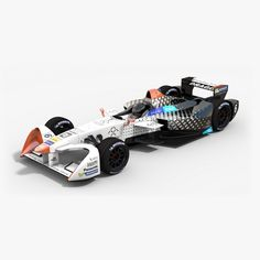 """Have you heard of Faraday Future Dragon Racing #FormulaE team. From http://www.fiaformulae.com: """"#FaradayFuture is a Chinese-backed, American start-up technology company focused on the development of intelligent electric vehicles. #DragonRacing was founded by Jay Penske and Steve Luczo, Chairman & CEO of #SeagateTechnologies in 2006. Dragon Racing has partnered with Faraday Future for season 2016-17of the FIA Formula E Championship."""" And now #lowpoly #3Dmodel of their #racing car season…"""