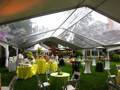 Clearspan tents