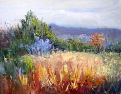 Landscape Artists International: Autumn's Allure, New Contemporary Landscape Painting by Sheri Jones
