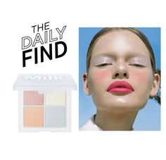 """""""Daily Find: Milk Makeup Powder"""" by polyvore-editorial ❤ liked on Polyvore featuring beauty, MILK MAKEUP and DailyFind"""