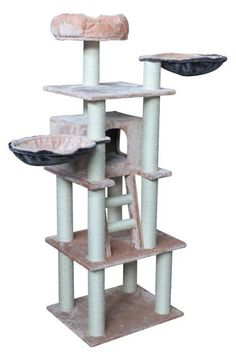 scratch tower with cat hammock kitty cat tower with cat hammock   cat towers   pinterest   cat      rh   pinterest co uk