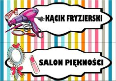 Kącik fryzjerski i salon piękności Polish Language, Classroom Decor, Diy And Crafts, Preschool, Family Guy, Clip Art, Teacher, Education, Starters