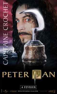 "Jason Isaacs ""Captain Hook"" poster France"