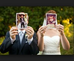 Me & my man will be doing this for sure.. we have baby photos of us together.. ♡♡