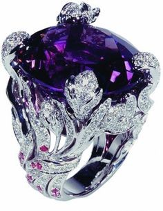 Collection Dior by Victoire de Castellane  | More here: http://mylusciouslife.com/bling-fling-engagement-ring-pictures/