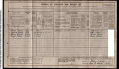 Census entry showing my paternal great grandfather Thomas Passey, aged 30. Hillmorton, 1911. He is working as a labourer at the electrical works (presumably British Thomson-Houston (BTH)). Also recorded are his wife Gertrude (nee Cleaver) and their first two daughters Winnie, 7 and Maggie, 6. My grandfather Thomas didn't make it onto the scene until 1923.