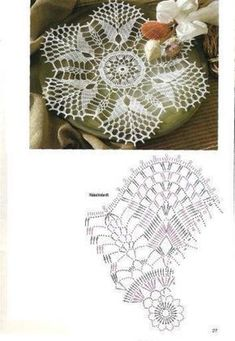 ru / Фото - Diana Special - D 739 Filethaklen - Maria-NikolaevnaKira scheme crochet: Scheme crochet no.Learn to knit and Crochet with Jeanette: Patterns of crochet doilies. Crochet Doily Diagram, Crochet Doily Patterns, Crochet Chart, Thread Crochet, Filet Crochet, Crochet Designs, Crochet Dollies, Crochet Flowers, Crochet Circles