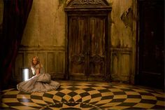 Image result for alice in wonderland rabbit hole from movie