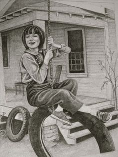 to kill a mockingbird coloring pages - painting i did interpretation of scene from to kill a