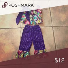 Adorable summer 2 piece set Perfect for picture time! Matching Sets