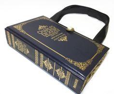 Book Purse Charles Dickens Book Handbag Fashion by retrograndma, $59.99