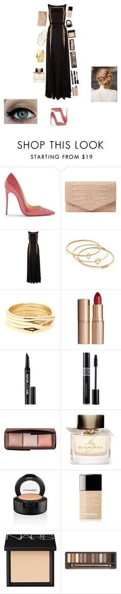 """""""Grammy Awards 2016"""" by enjoyvampire ❤ liked on Polyvore featuring Christian Louboutin, Emily Cho, Temperley London, Madewell, Repossi, Charlotte Tilbury, Benefit, Christian Dior, Hourglass Cosmetics and Burberry"""