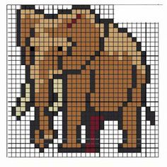 Divertidos gráficos de animales en pequeño...
