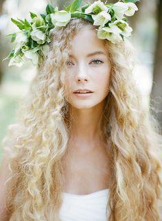 Elegant Organic Southern Bridal Inspiration Hair & Makeup | Jen Lewis of Pastel Makeup & Hair