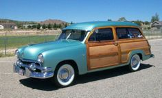 1951 Ford Country Squire Station Wagon.