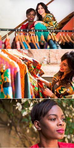 Essa é a proposta das estilistas da OKAN, que são amantes de visuais alegres e tecidos modernos. Elas usam a moda para promover a cultura africana e brasileira. Confira nosso bate-papo e descubra como combinar as cores na roupa e na maquiagem sem errar.