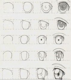 New Ideas Eye Tutorial Anime Drawing Reference Eye Drawing Tutorials, Drawing Techniques, Drawing Tips, Drawing Reference, Pose Reference, Drawing Ideas, Drawing Drawing, Painting Tutorials, Art Tutorials