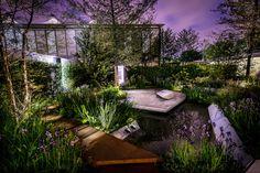 dream gardens: RHS Chelsea Flower Show 2014, Londýn - RBC Waterscape Garden, zlatá medaila