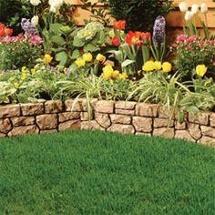 backyard flower bed designs - Google Search